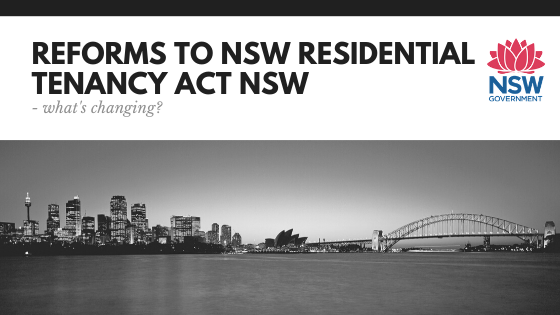 Residential Tenancies Act NSW